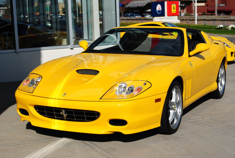 2005 FERRARI 575 SUPERAMERCA